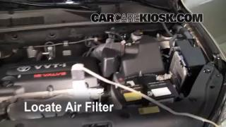 2006-2012 Toyota RAV4 Engine Air Filter Check
