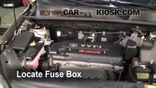 Blown Fuse Check 2006-2012 Toyota RAV4