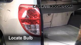 Reverse Light Replacement 2006-2012 Toyota RAV4