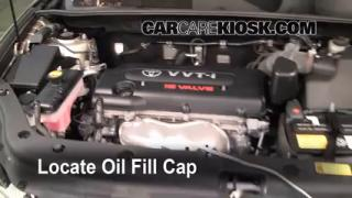 How to Add Oil Toyota RAV4 (2006-2012)