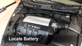 Battery Replacement: 2005-2008 Acura RL