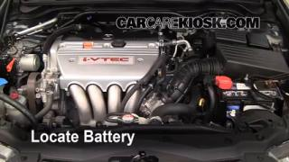 How to Clean Battery Corrosion: 2004-2008 Acura TSX
