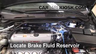 2004-2008 Acura TSX Brake Fluid Level Check