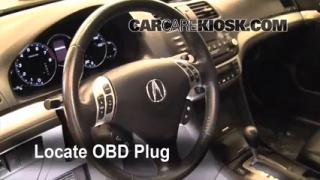 Engine Light Is On: 2004-2008 Acura TSX - What to Do