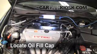How to Add Oil Acura TSX (2004-2008)