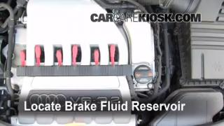 2006-2013 Audi A3 Brake Fluid Level Check