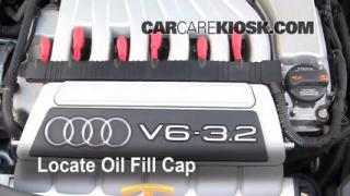 How to Add Oil Audi A3 (2006-2013)