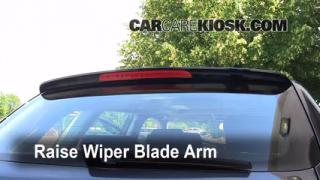 Rear Wiper Blade Change Audi A3 (2006-2013)