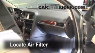 2005-2011 Audi A6 Cabin Air Filter Check