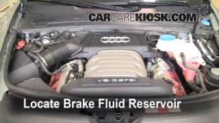 2005-2011 Audi A6 Brake Fluid Level Check