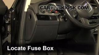 Interior Fuse Box Location: 2005-2011 Audi A6