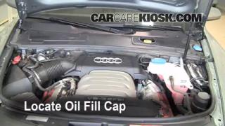 How to Add Oil Audi A6 (2005-2011)