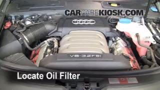 Oil & Filter Change Audi A6 (2005-2011)