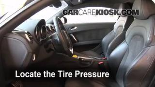 Properly Check Tire Pressure: Audi TT Quattro (2008-2014)