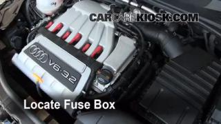 Blown Fuse Check 2008-2014 Audi TT Quattro