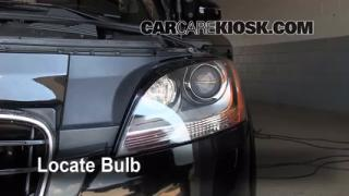 Highbeam (Brights) Change: 2008-2014 Audi TT Quattro