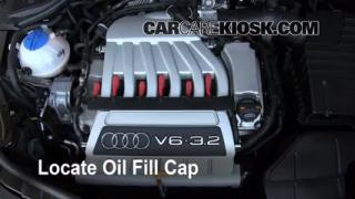 How to Add Oil Audi TT Quattro (2008-2014)