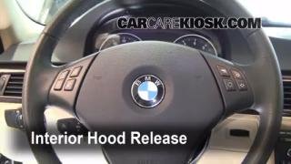 Open Hood How To 2006-2013 BMW 328xi