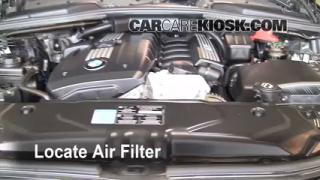 2004-2010 BMW 528xi Engine Air Filter Check