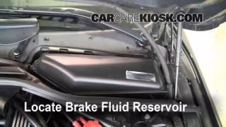 2004-2010 BMW 528xi Brake Fluid Level Check