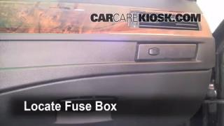 2004-2010 BMW 528xi Interior Fuse Check