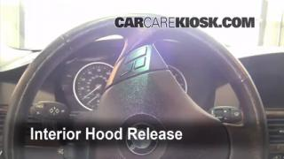 Open Hood How To 2004-2010 BMW 528xi