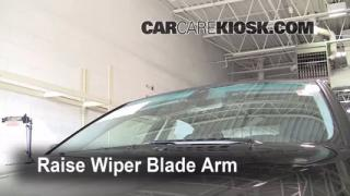 Front Wiper Blade Change BMW 528xi (2004-2010)