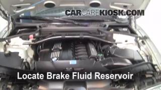 2004-2010 BMW X3 Brake Fluid Level Check