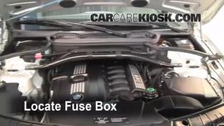 Replace a Fuse: 2004-2010 BMW X3