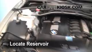 Check Windshield Washer Fluid BMW X3 (2004-2010)