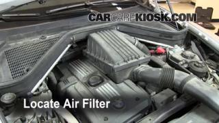 2007-2013 BMW X5 Cabin Air Filter Check