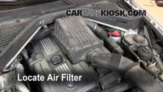 2007-2013 BMW X5 Engine Air Filter Check
