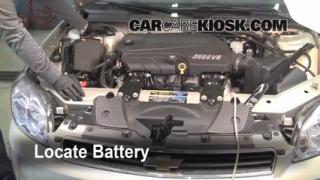 Battery Replacement: 2006-2013 Chevrolet Impala