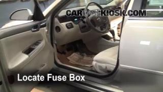 2006-2013 Chevrolet Impala Interior Fuse Check
