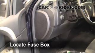 Interior Fuse Box Location: 2007-2013 Chevrolet Silverado 1500