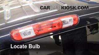 Third Brake Light Bulb Change GMC Sierra 1500 (2007-2013)