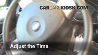 How to Set the Clock on a Chevrolet Uplander (2005-2008)