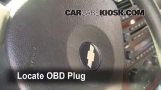 Engine Light Is On: 2005-2008 Chevrolet Uplander - What to Do