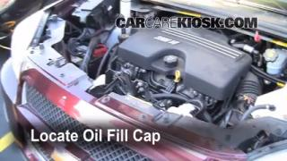 How to Add Oil Chevrolet Uplander (2005-2008)