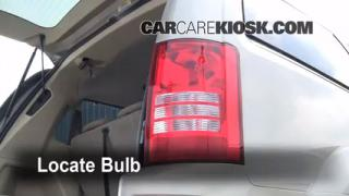 Tail Light Change 2008-2013 Chrysler Town and Country