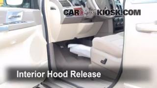 Open Hood How To 2008-2013 Chrysler Town and Country