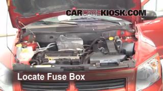 Replace a Fuse: 2007-2012 Dodge Caliber