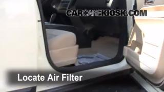 2007-2013 Ford Edge Cabin Air Filter Check