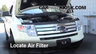 2007-2013 Ford Edge Engine Air Filter Check