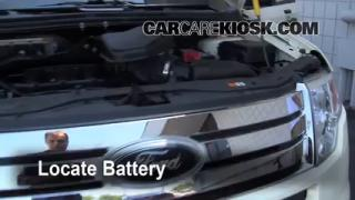 Battery Replacement: 2007-2013 Ford Edge