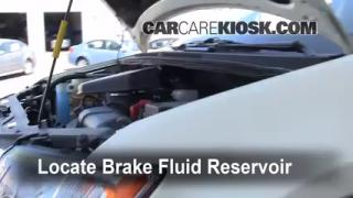 Add Brake Fluid: 2007-2013 Ford Edge