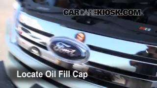 How to Add Oil Ford Edge (2007-2010)