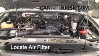 2006-2011 Ford Ranger Engine Air Filter Check