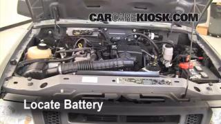 How to Clean Battery Corrosion: 2006-2011 Ford Ranger