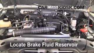 Add Brake Fluid: 1998-2011 Ford Ranger